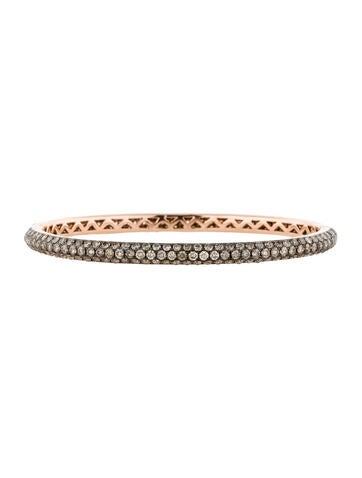 7.11ctw Champagne Diamond Bracelet