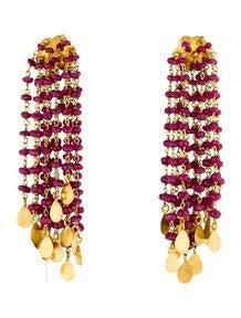 Ruby Confetti Earrings