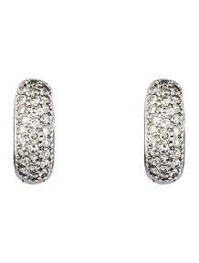 1.15ctw Diamond Huggie Earrings