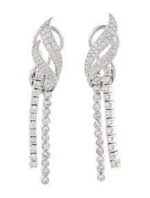 1.93ctw Diamond Drop Earrings