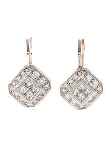 1.00ctw Diamond Drop Earrings