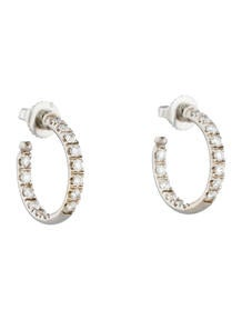 Small Inside Out Diamond Hoops