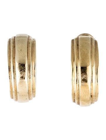 14K Half-Hoop Earrings