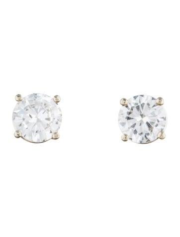 1.07ctw Diamond Stud Earrings