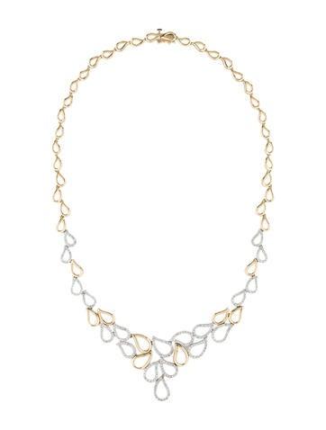 1.91ctw Diamond Leaf Necklace