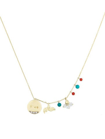 Meira T. Charm Necklace