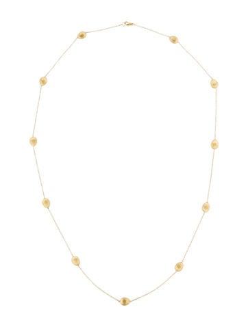 Sateen Golden Necklace