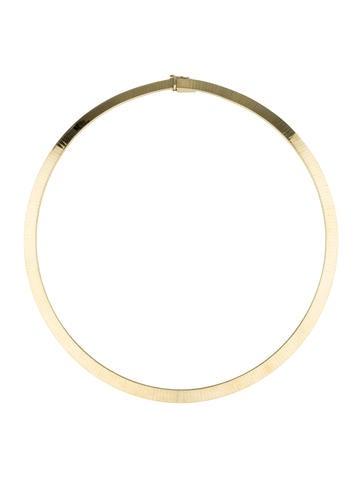 14K Omega Collar Ketting