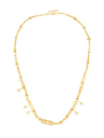 22K Multi-Bead Necklace