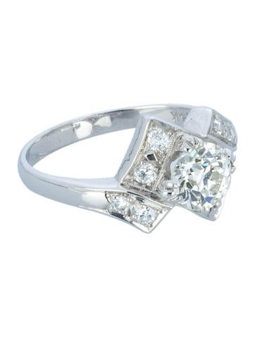 Diamond Engagement Ring 1.34ctw