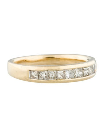 Gold and Diamond Wedding Band 0.60ctw