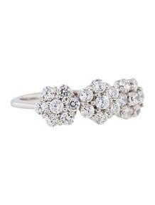 1.05ctw Diamond Flower Cluster Ring
