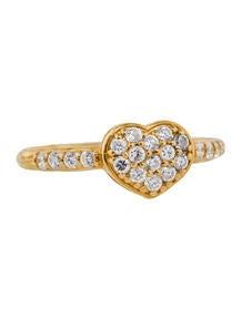 Diamond Heart Ring