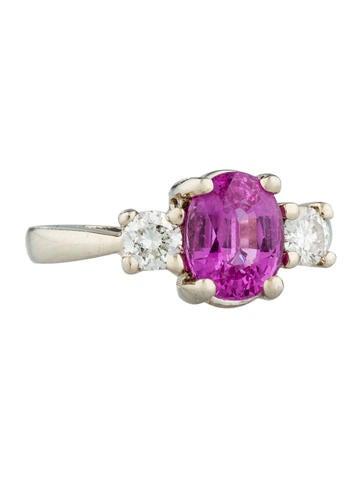 1.84ctw Sapphire & Diamond Ring