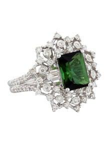 2.29ctw Tourmaline & Diamond Ring