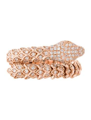 2.00ctw Diamond Snake Ring