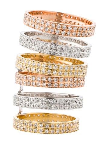 2.85ctw Diamond Cage Ring