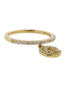 Diamond Charm Ring