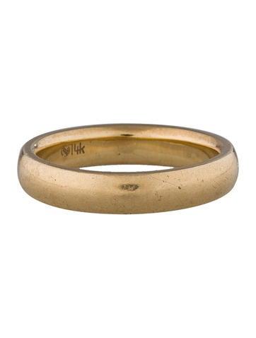 Gold Band Ring