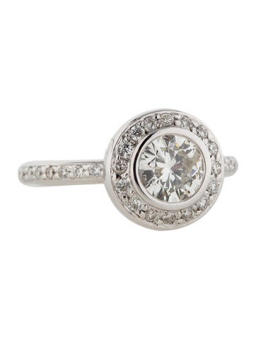 1.11ctw Round Diamond Ring