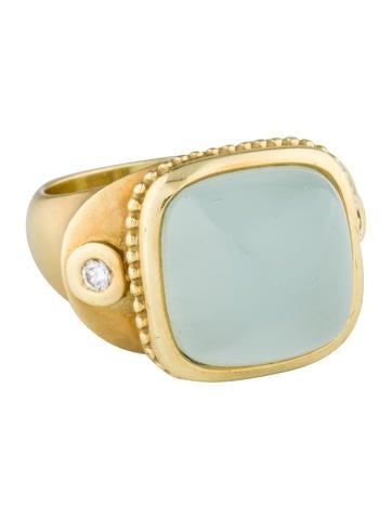 Chalcedoon 0026 Diamond Ring