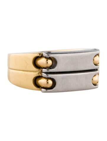 18K Two-Tone Band