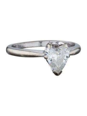 14K Heart Diamond Ring