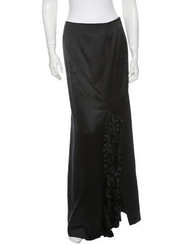 Givenchy Silk Skirt