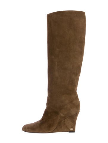 Gucci Wedge Boots