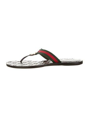 Gucci Ribbon Sandals