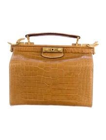 Gucci Crocodile Doctor Bag