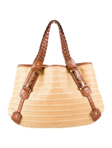 Gucci Straw Pelham Bag