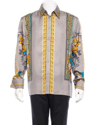 Gianni Versace Silk Shirt