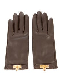 Hermès Soya Leather Gloves
