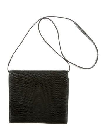 Hermès Lizard Shoulder Bag