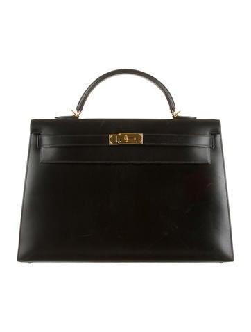 Hermès Sellier Box Kelly 40