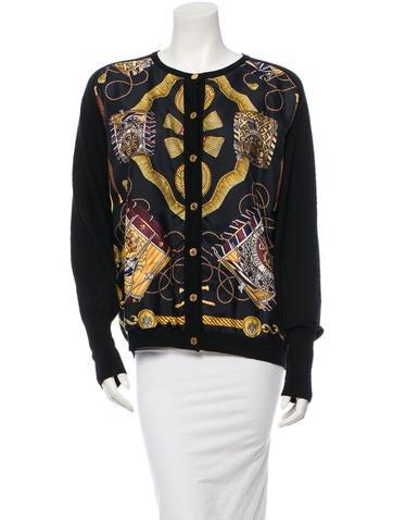 Hermès Silk Sweater