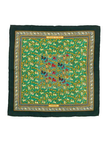 Hermès Silk Pocket Square