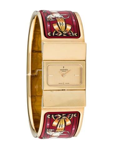 Hermès Enamel Loquet Watch