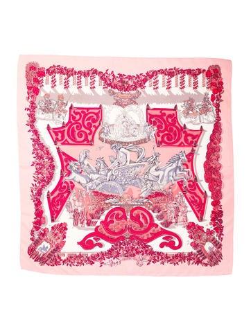 Hermès Printed Scarf