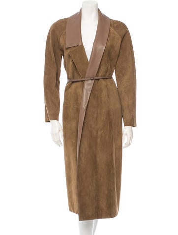 Hermès Suede Coat