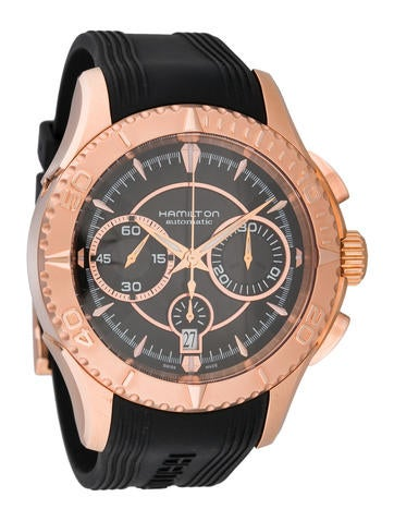 Hamilton Automatic Chronograph Watch w/ Tags