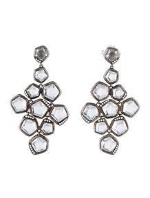 Ippolita Quartz and Diamond Earrings