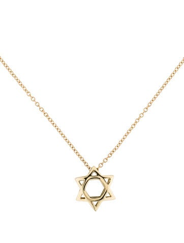I. Reiss Star Of David Necklace