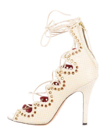 Isabel Marant Lelie Snaky Ghillie Sandals