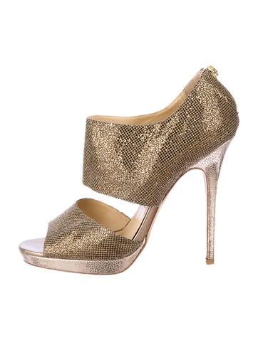 Jimmy Choo Metallic Sandals