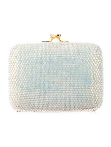 Judith Leiber Mini Crystal Clutch