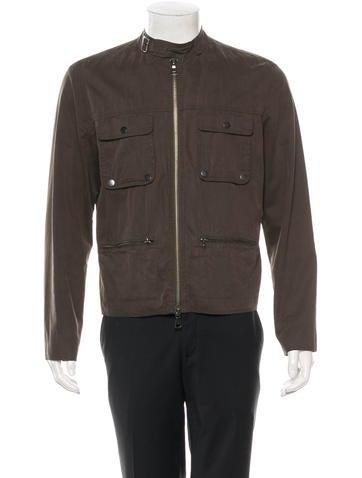 John Varvatos Coated Jacket