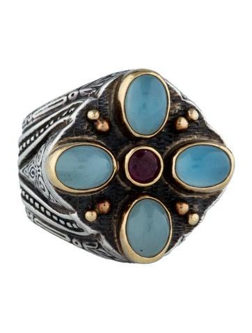 Konstantino Maansteen 0026 Ruby Ring