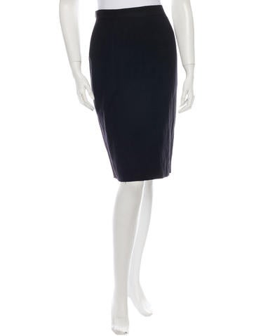 Lanvin Wool Skirt